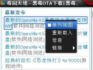 Opera Mini v4 3 黑莓版改键位改图标– LIUGUOFENG
